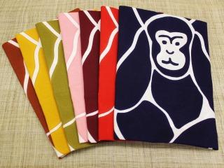 三猿 手ぬぐい各色